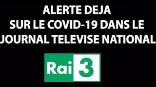 Expérience sur des coronavirus – Émission de la RAI-3 italienne en 2015