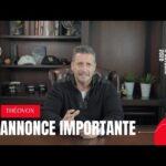 Annonce importante -Jean-François Denis de ThéoVox