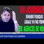 Un journaliste demande au premier ministre M. François Legault pourquoi pas fermer les aéroports ?