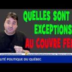Guilbault nous explique les exceptions au couvre feu imposé par Québec