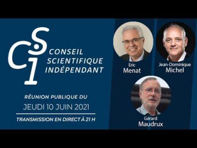Réunion publique n°9 du Conseil scientifique indépendant (CSI)